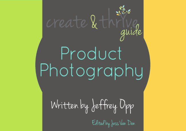 Create & Thrive Ebook Cover Product Photography