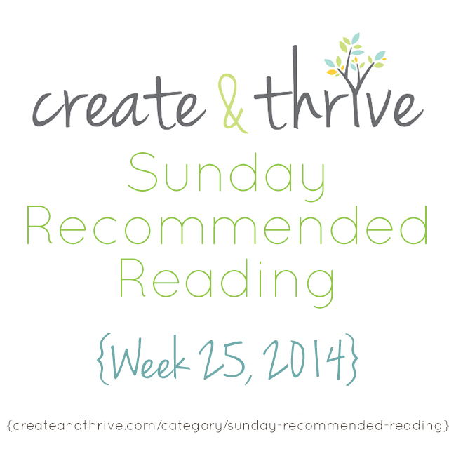 recommended reading week 25