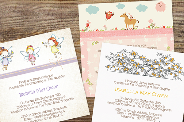 Christening invitations 5