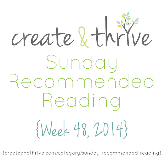 recommended reading week 48