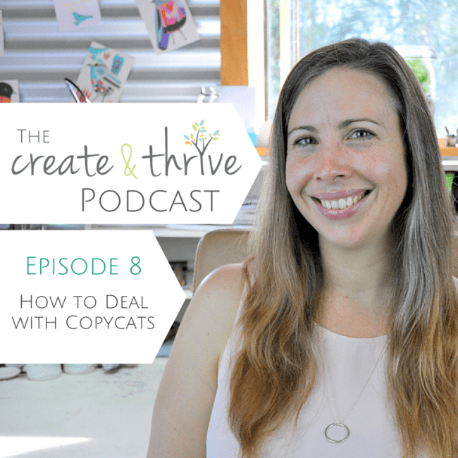 The Create & Thrive Podcast - Episode 8