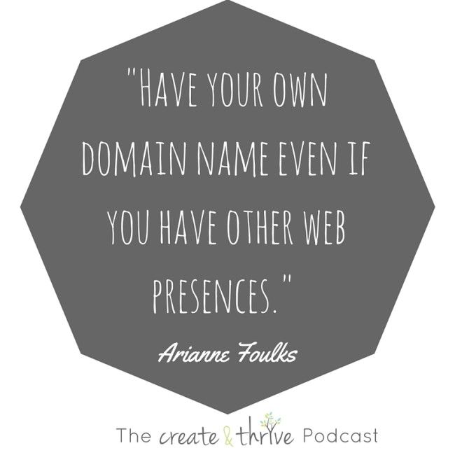 Have your domain name