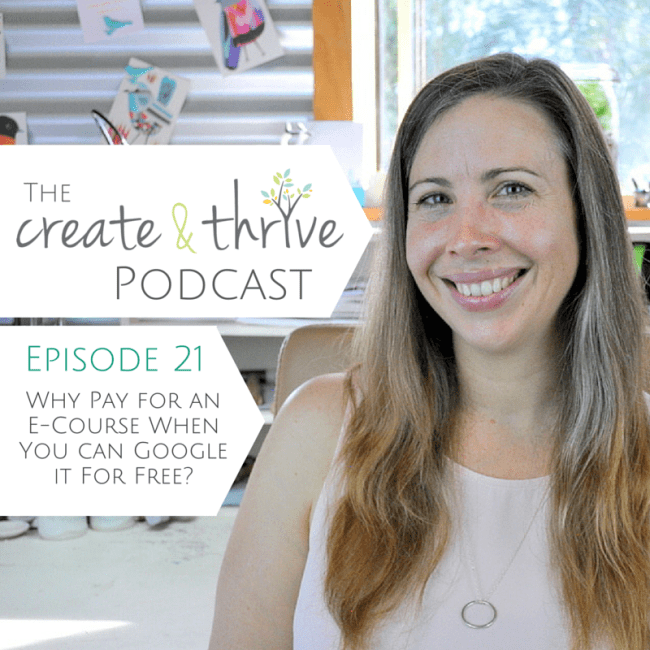 The Create & Thrive Podcast - Episode 21