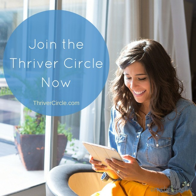 Join the Thriver Circle Now