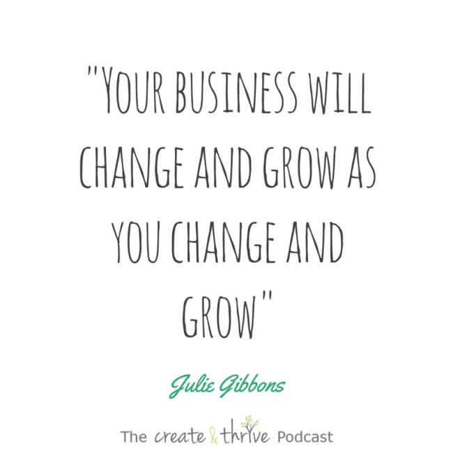 Ep 50 quote - Julie Gibbons