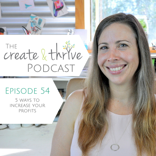 Ep 54 - Create & Thrive Podcast