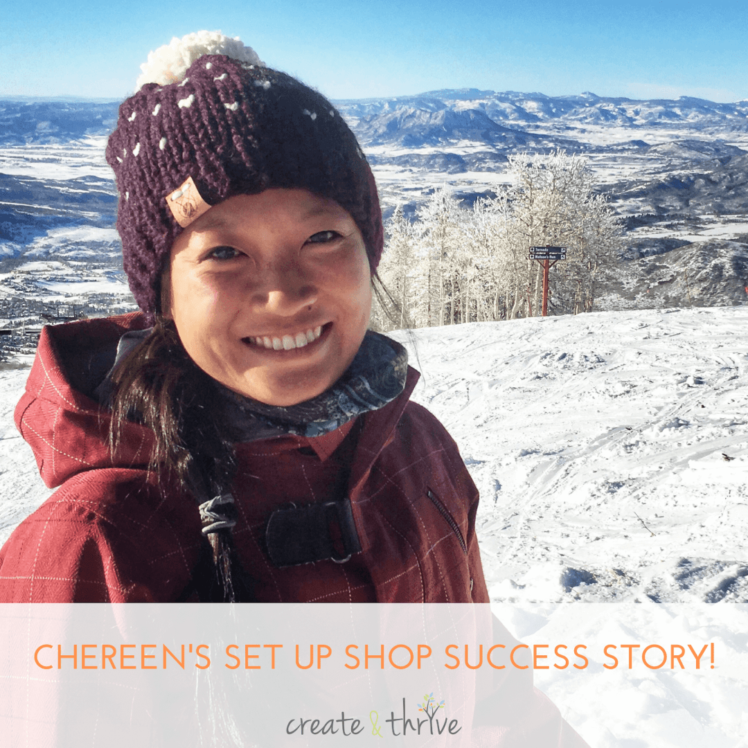 60 Sales in 2 Months – Chereen's Set Up Shop Success Story!