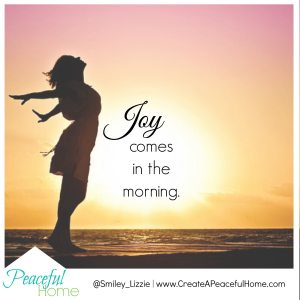 PH Joy comes in the morning
