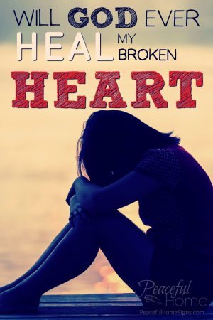 god heal my broken heart