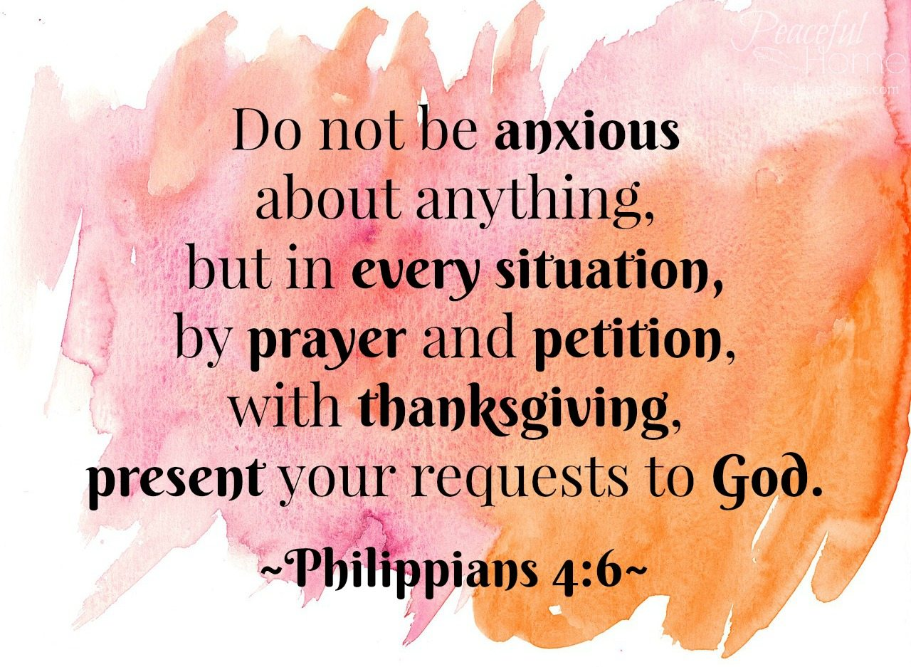 Image result for  do not be anxious about anything kjv