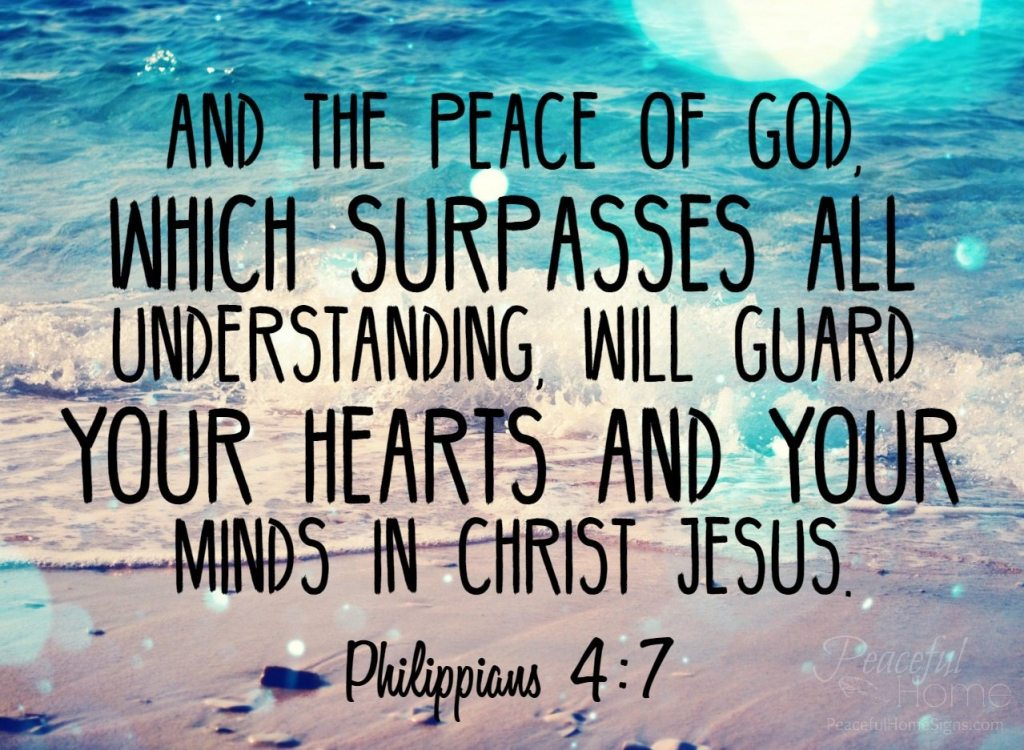 a bible verse about peace