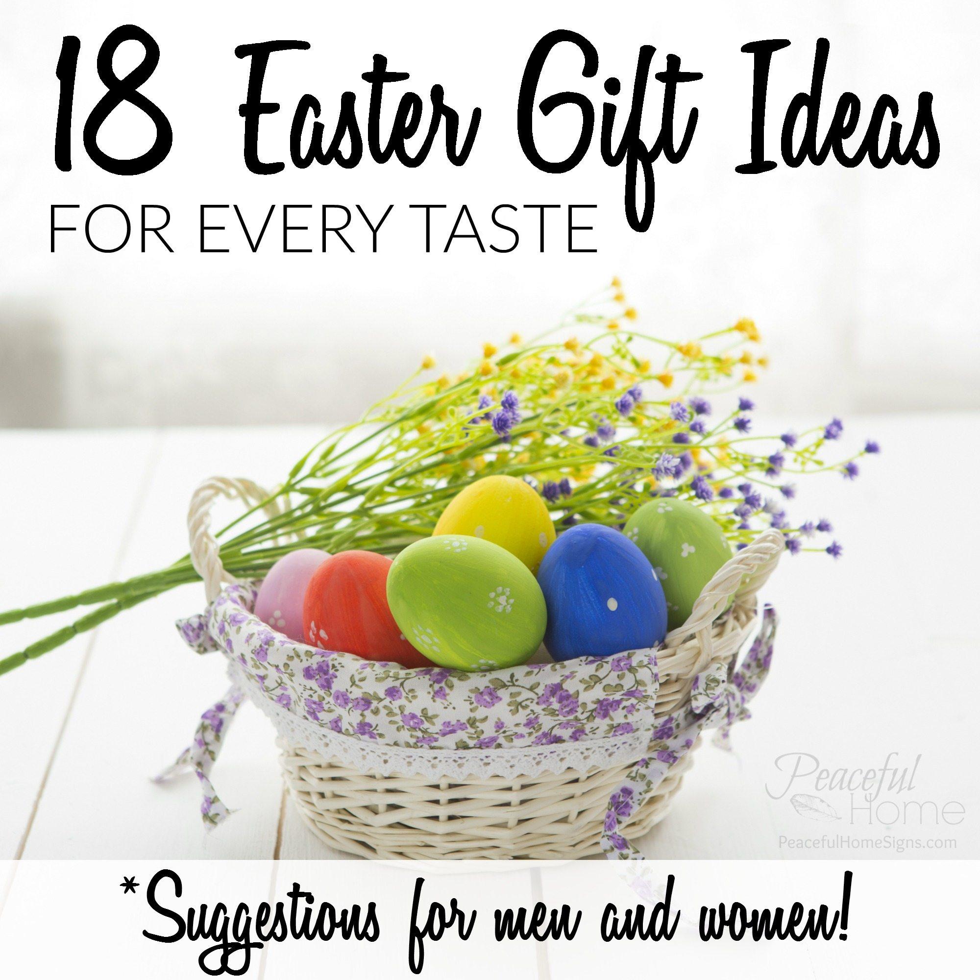 18 Easter Gift Ideas For Every Taste Men Women Peaceful Home