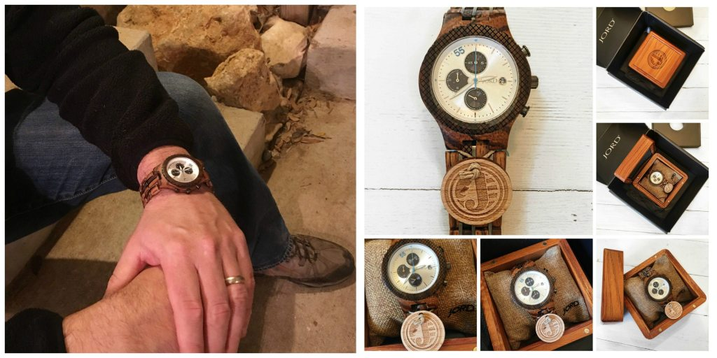 JORD Mens Watch | Collab with PeacefulHomeSigns.com | Wood Watch | Gift for Him | Fathers Day Gift Guide