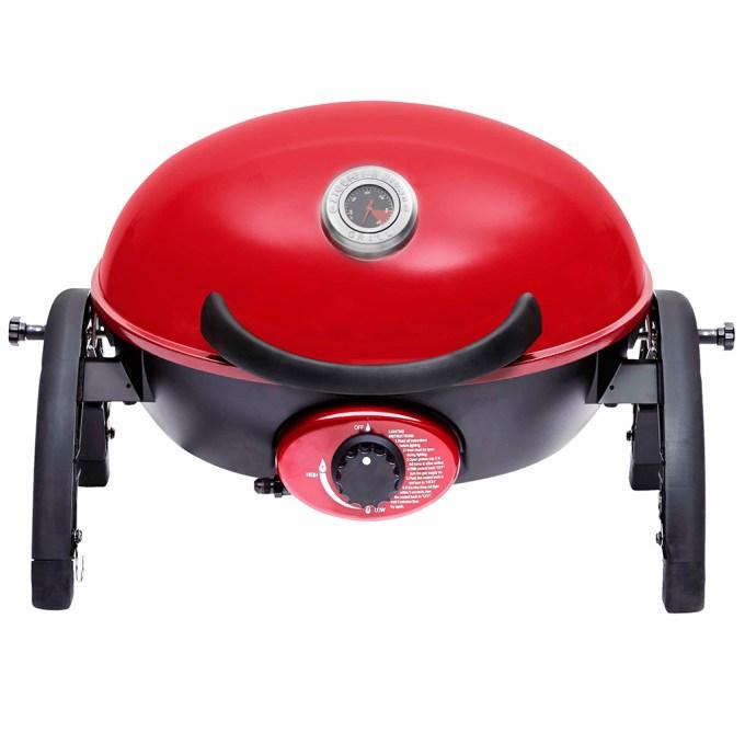 Ziegler & Brown Portable Grill in Chilli Red