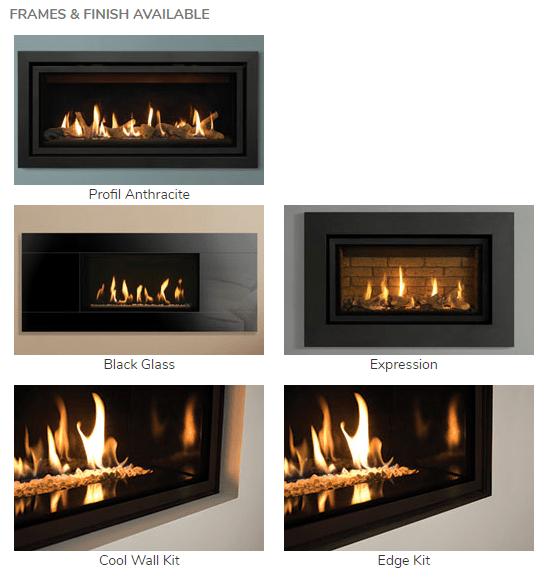 Gazco Studio 3 Frames