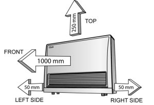 Rinnai Energysaver - Specs