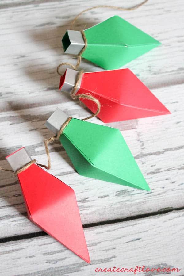 Christmas Light Treat Boxes from createcraftlove.com for Tatertots & Jello!