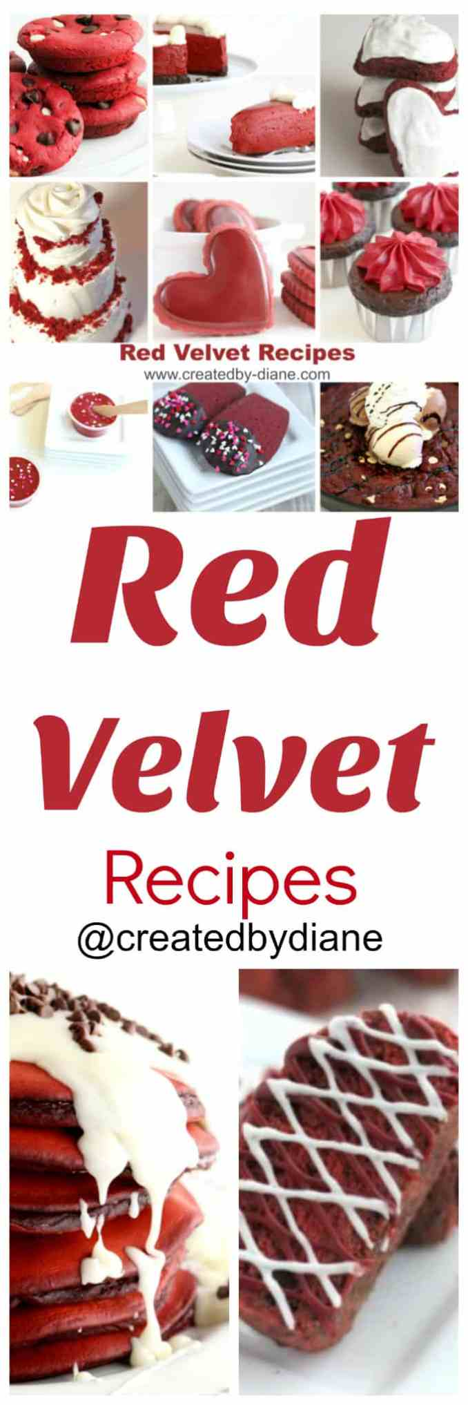 red velvet recipes | Created by Diane