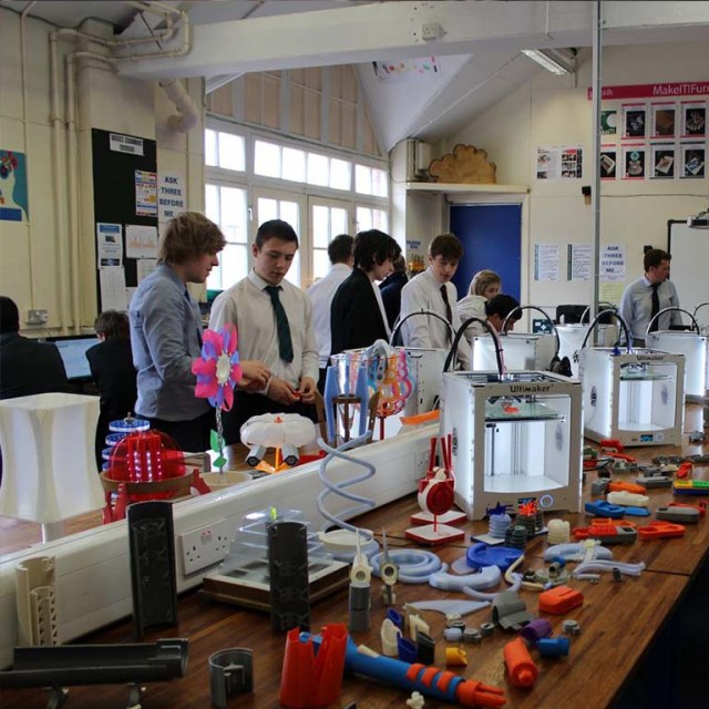 3D Printing in classroom CPD