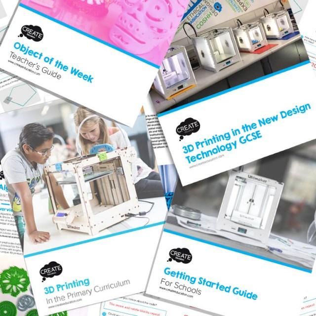Free 3D printing STEM / STEAM Teacher Guides