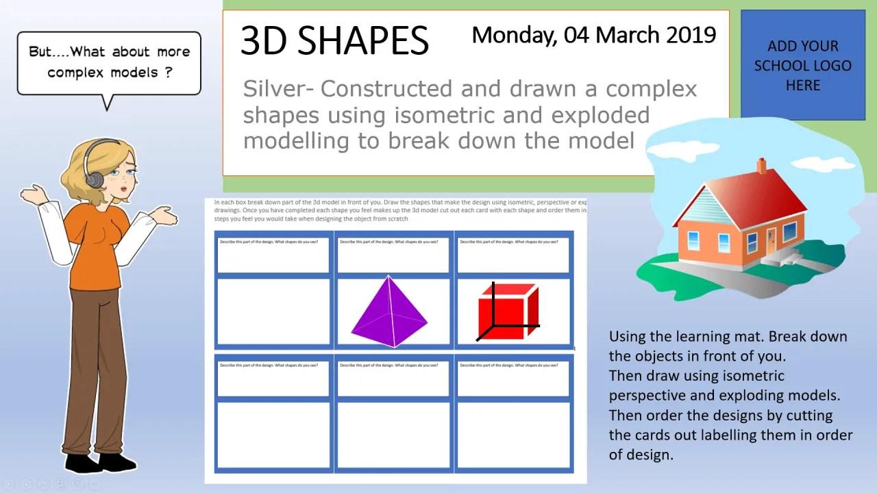 What Makes A 3d Shape Lesson
