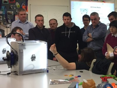 School 3D Printing and 3D Modelling Curriculum CPD