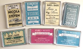 Save the Date magnets