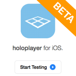 HoloPlayer Beta App Title Icon
