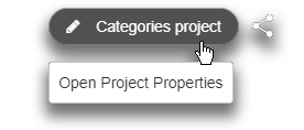 Open te project properties to change the color of your sheets' waypoints
