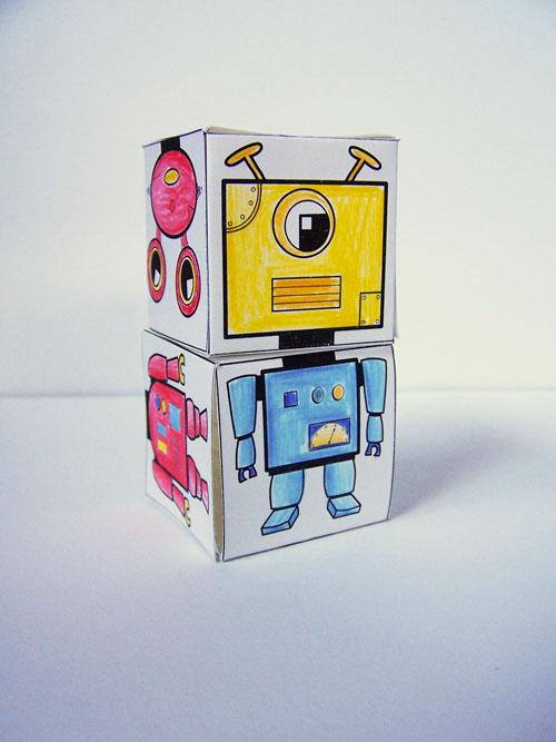 Craft Toddlers Robot