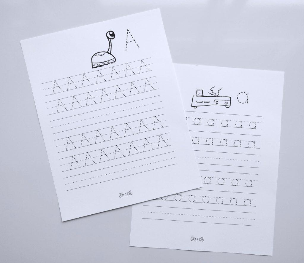 Letter Tracing Printable Worksheet X887