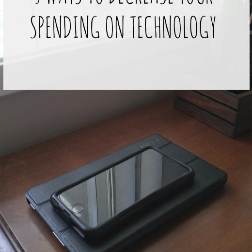 Create Pray Love   5 Ways to Decrease Your Spending on Technology