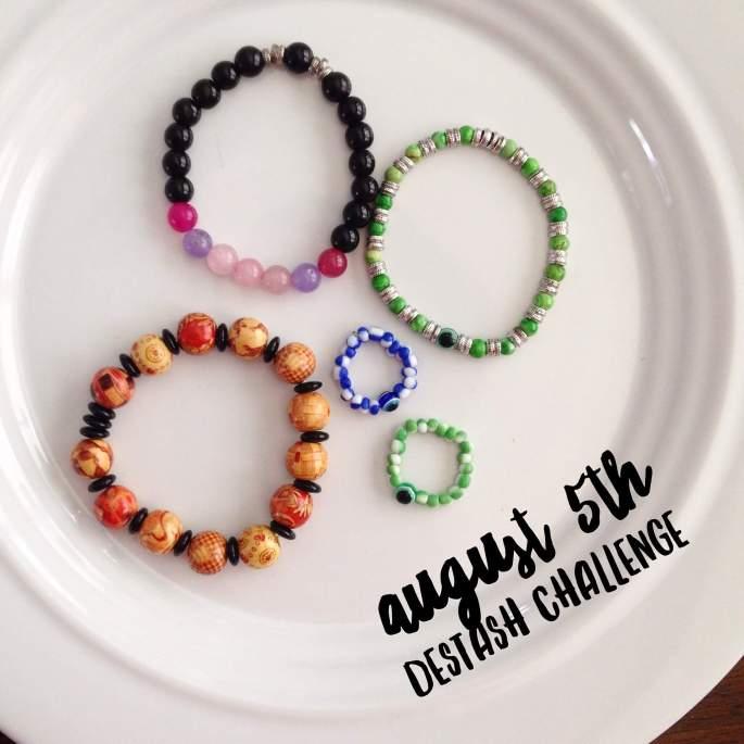 Destashing Beads Bracelets & Rings