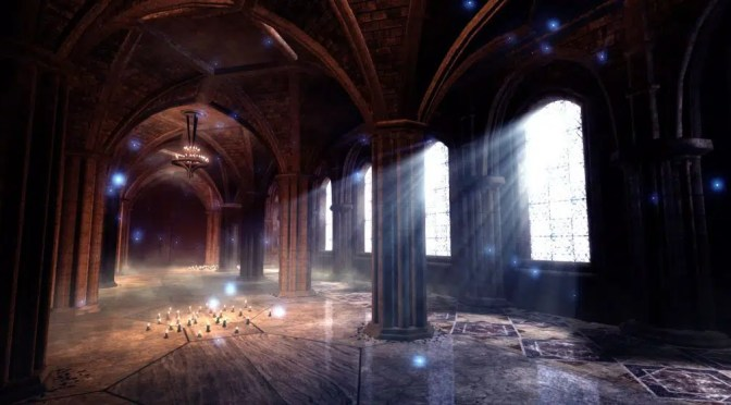 Effet cathédrale avec le Blender Game Engine