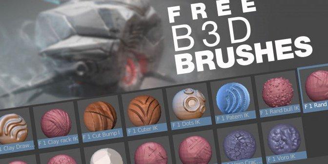 """Blender: Des Brushes pour le Sculpting <span class=""""caps"""">3D</span>"""