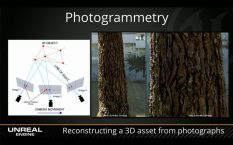 La photogrammétrie est une technique qui consiste à effectuer des mesures dans une scène, en utilisant la parallaxe obtenue entre des images acquises selon des points de vue différents. Recopiant la vision stéréoscopique humaine, elle a longtemps exploité celle-ci pour reconstituer le relief de la scène à partir de cette différence de points de vue. Actuellement, elle exploite de plus en plus les calculs de corrélation entre des images désormais numériques. Cette technique repose entièrement sur une modélisation rigoureuse de la géométrie des images et de leur acquisition afin de reconstituer une copie 3D exacte de la réalité.
