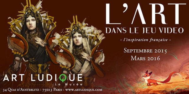 L'Art dans le Jeu vidéo, l'inspiration française de Septembre 2015 à Mars2016