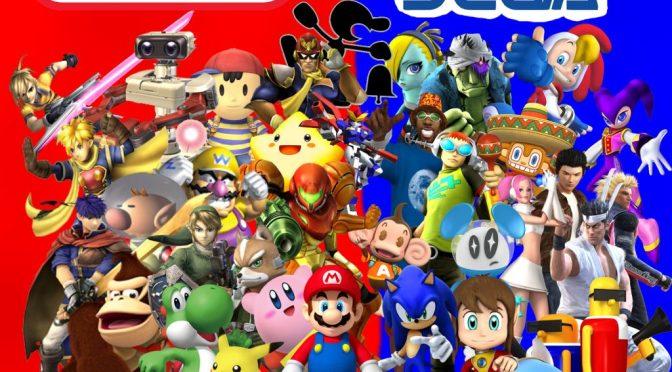 """L'univers de Nintendo et Sega revisité avec <span class=""""caps"""">UE4</span>"""