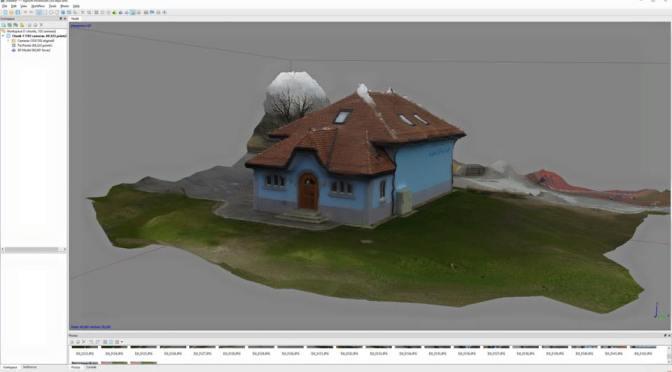 """Comparatif de softs de Scan <span class=""""caps"""">3D</span> sur un bâtiment en passant par un drone"""