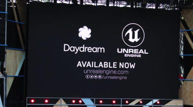 un plugin Unreal Engine afin de créer des applications pour le casque de Google: Daydream