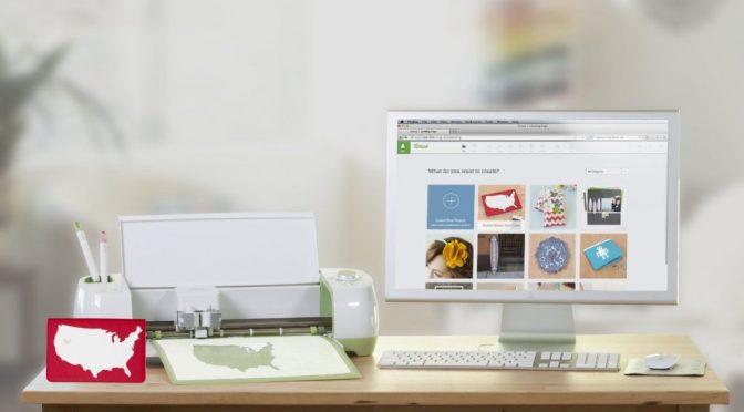 Cricut Explore Air est une imprimante permettant de dessiner et de découper différents matériaux