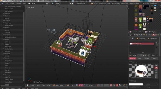 """Créer un jeu <span class=""""caps"""">3D</span> avec Blender mais en utilisant le moteur <span class=""""caps"""">BDX</span> et LibGDX"""