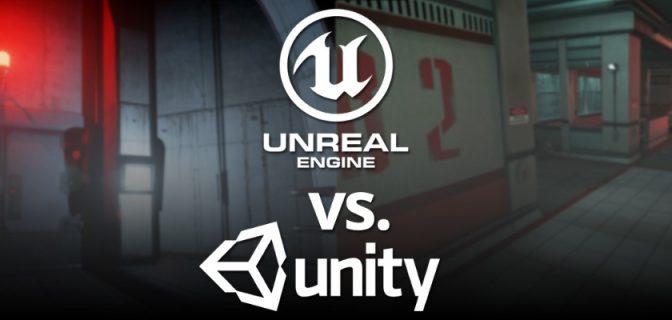 Unreal Engine 4 vs Unity 5: Faites-vous votre propre opinion !