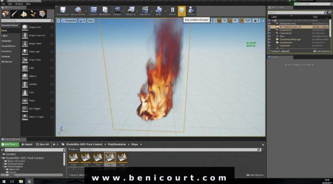 Un plugin de gestion de textures volumétriques pour Unreal Engine