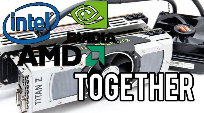 "Histoire de processeurs: <span class=""caps"">AMD</span> Ryzen 9 vs Intel core i9 / archi <span class=""caps"">GPU</span> Vega d'AMD vs Nvidia <span class=""caps"">GTX</span> 10x0"
