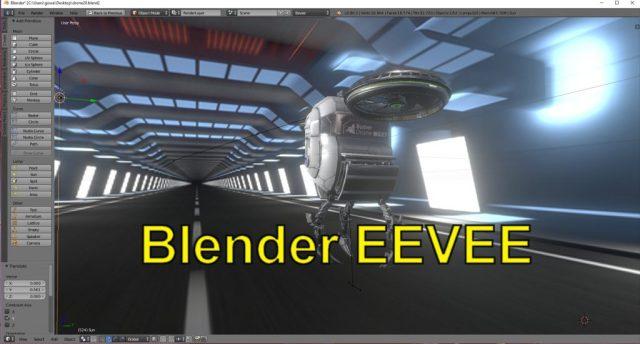 Eevee, le nouveau moteur temps réel pour Blender (meilleur export