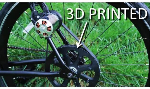 """Fabriquer son vélo électrique avec l'impression <span class=""""caps"""">3D</span>"""