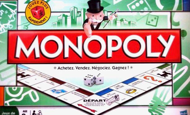 Le code source du jeu Monopoly