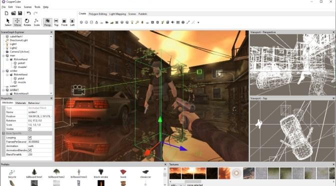 Ambiera: de la création d'outils à la création de jeux vidéo