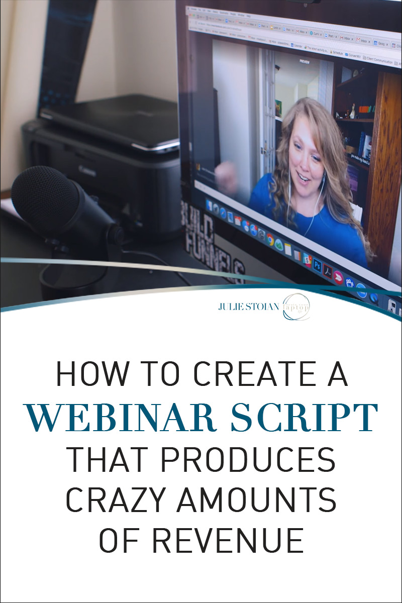 How to Create a Webinar Script That Produces Crazy Amounts of Revenue
